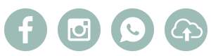 Através de suas Redes Sociais, WhatsApp ou Upload do seu Computador